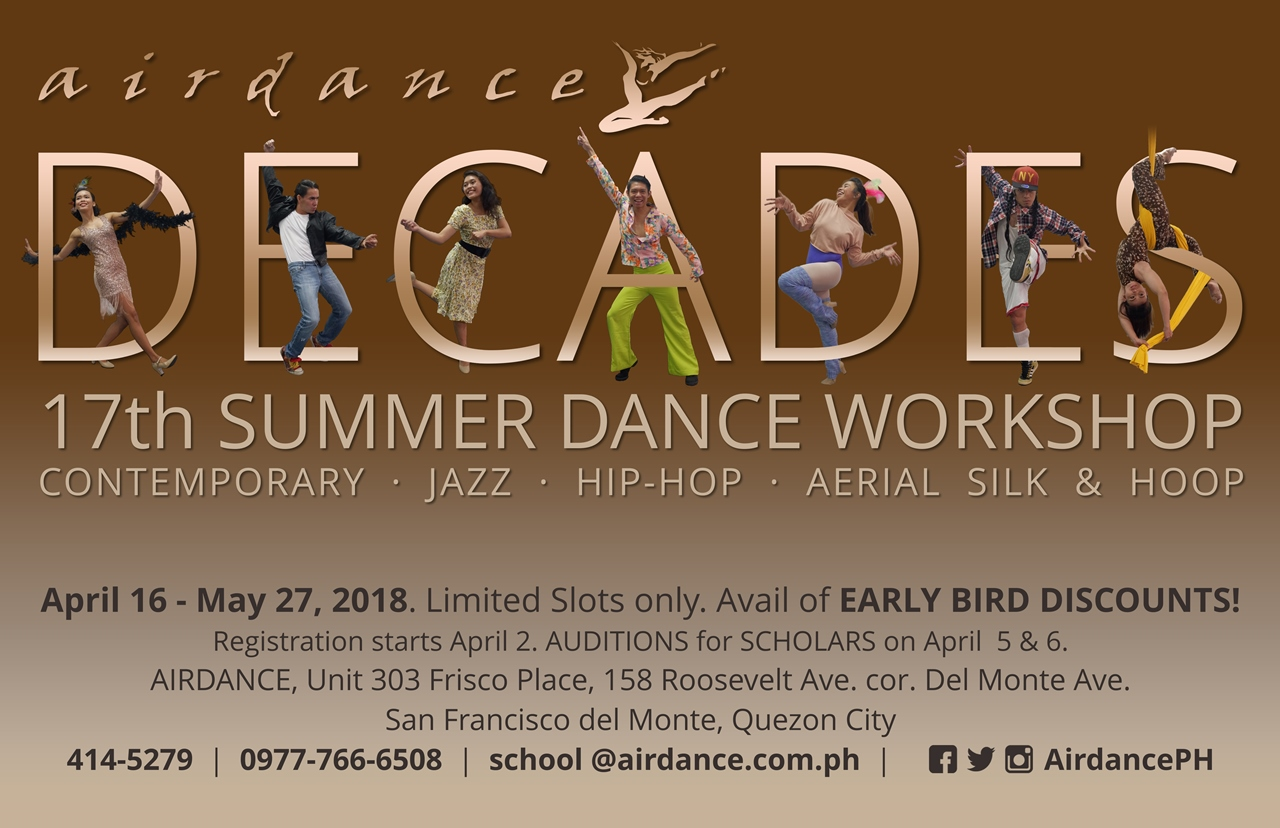 Decades - 17th Summer Dance Workshop