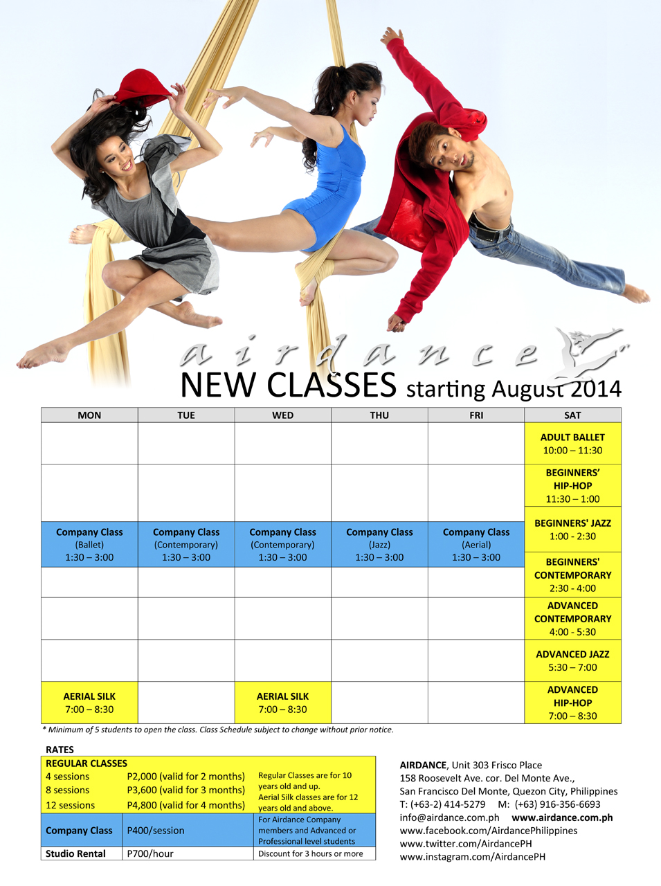 Airdance New Classes